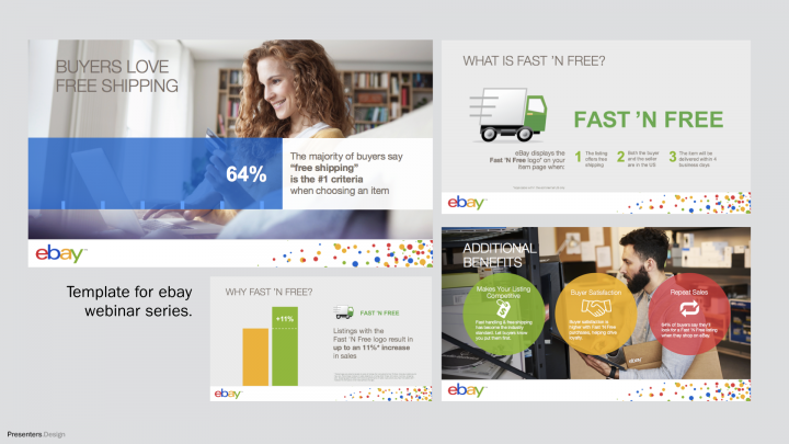 eBay Webinar Template Design